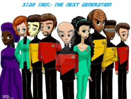 Star Trek: The Next Generation by MoodyBeatleGirl
