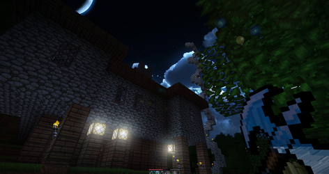 Minecraft By Night by dodlhuat