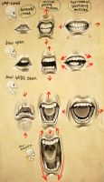 Expressions- Mouth + Jaw by EponaN64