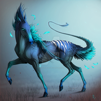 Forest Horse by BlackLawliet