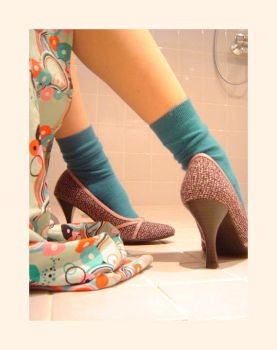 Never Shower In High Heels by paragon-