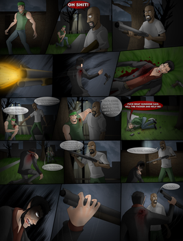 The Shadow Wolf Issue 3 Page 12 by ThePsychoticEnigma