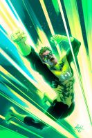 Green Lantern Commission by Eddy-Swan-Colors