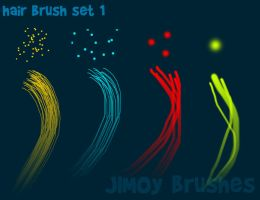 Hair brushes set 1 by jimville2003