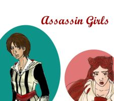 Assassin Girls by RunaMagus