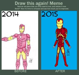 Before and After Meme:2015 by R4zor3dge
