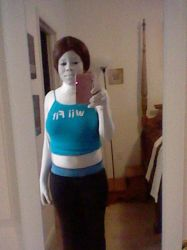Wii fit trainer progress 2/3 by Y0-Mama