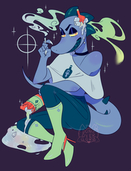Trickster Bea by dongoverlord