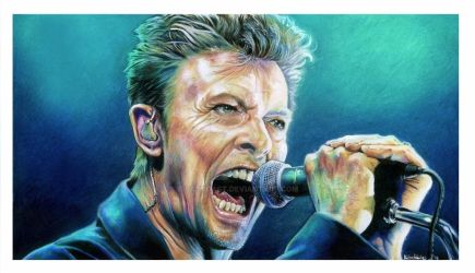 David Bowie Commission by EatToast