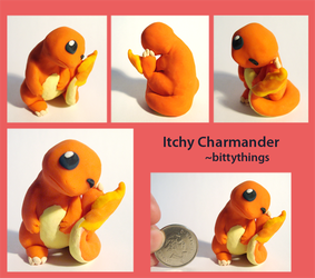 Itchy Charmander - SOLD by Bittythings