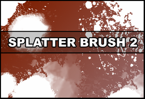 Splatter brush 2 by Faeth-design