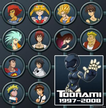 Toonami - 11 Years of Goodness by marcotte