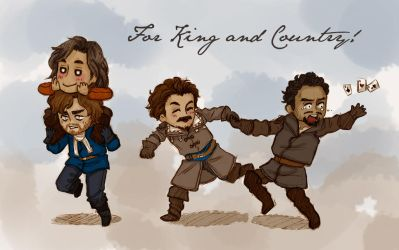 Tiny Musketeers [BBC The Musketeers] by ProfDrLachfinger