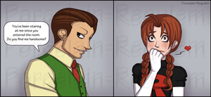 Giovanni + Delia - First Meeting by Porcelain-Requiem