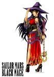 Sailor Mars - Black Mage by AkiDead
