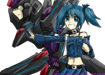 Blaster Dark and Aichi? by rnds
