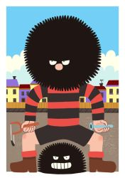 God of Chaos - Dennis the Menace by Teagle