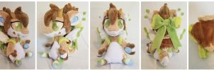 Zennilyn - DIANA - Chibi Bagbean Plush by The-Plushatiers