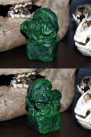 Lovecraft - Cthulhu Idol (repainted) by KingOvRats