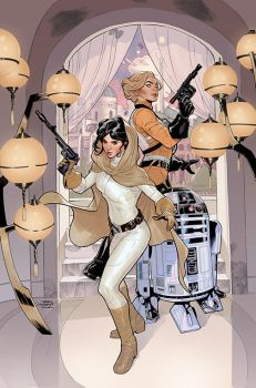 Star Wars: Princess Leia #2 Cover by TerryDodson