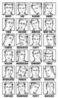 Quake Emotion Sheet by AdamWithers