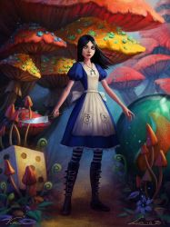 Alice: Madness Returns collaboration by Viccolatte
