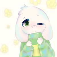 Little Asriel by FanoFixedsys137