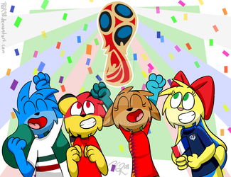 The World Cup Is Here! by RGR98