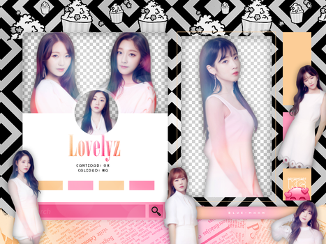 LOVELYZ | HEAL | PACK PNG by KoreanGallery