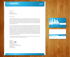 Business Card and Letterhead by theBassment