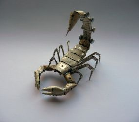 A Mechanical Scorpion by AMechanicalMind