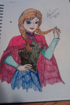 Disney's Frozen: Anna by iShadowLink