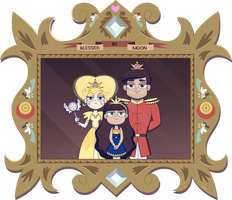 Mewni's Royal Family Portrait by jgss0109