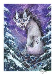 ACEO for Dodgesmiley by MiriElzar