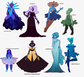 Gem Adopts || Set Price [4/8 OPEN/PRICE REDUCED] by H0nk-png