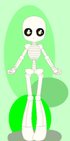 Chibi Skeleton Base (F2U) by Amalgaholic