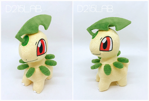 Bayleef plush by d215lab