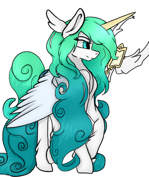 Soraka Star guardian Pony version by CrazySurprise