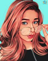Babe Loisa Andalio by GthugArt01