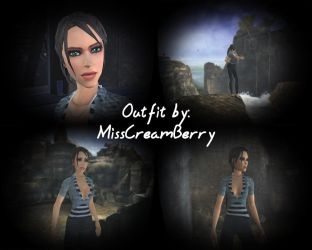 Lara Tomb Raider Legend Outfit by MissCreamBerry