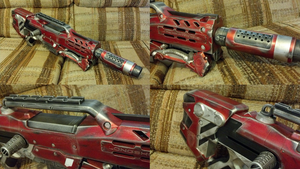 Red Silver Longshot Collage by DrDisco777