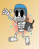 CR - Giant Skelly by TheDrawingDino123