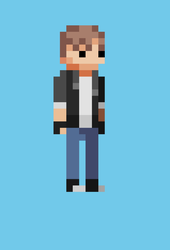 Pixel Art - Mike by JoshGold126