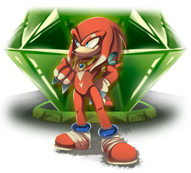Ikal the Echidna by XibalbaPiixan