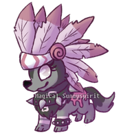 Chibi request for jamaaliday by MagicalSunnyspirit
