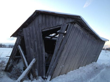 old shed by Shandra78