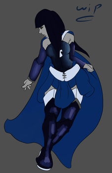 Chrish Coloured WIP by GhostingFish