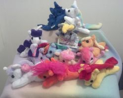 Pocket Pony Plush Party by NerdyMind