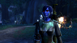 SWTOR Chiss Imperial Agent Sev'rence 2 by skylinegtr01