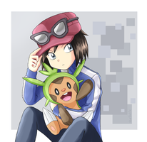 Trainer X Pokespe by StarRockie